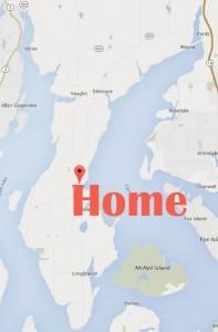 home city washington map