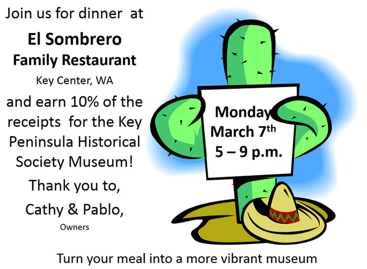Join us for dinner at El Sombrero