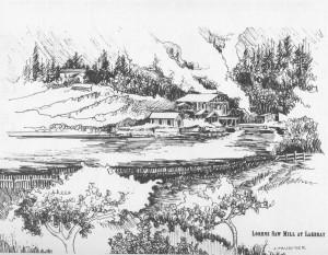 Lorenz Sawmill at Lakebay