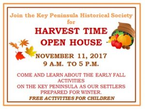 KPHS harvest time open house flyer