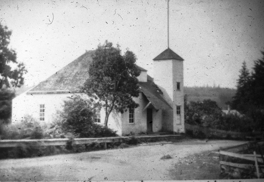 Vaughn Library Hall, Key Peninsula, circa 1905