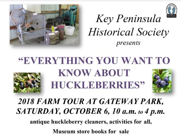 KPHS Everything you wanted to know about huckleberries at gateway park farm tour 2018