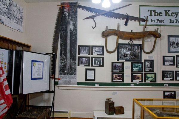 Key Peninsula Historical Society & Museum exhibit 2018 Timber-r-r! Logging the Key Peninsula